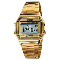 Skmei 1123 popular  золотые мужские  часы
