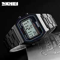 Skmei 1123  popular  черные мужские часы, фото 1