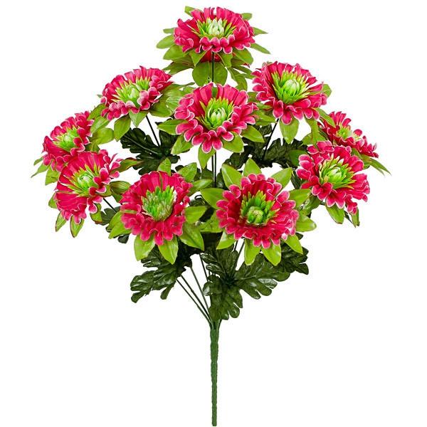 Букет хризантема ажурная, 52см