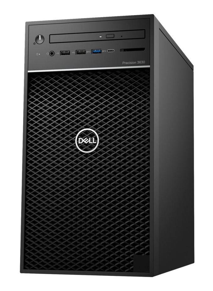 Рабочая станция DELL Precision 3630 Intel i7-8700/8/256F+1000/ODD/int/kbm/W10P
