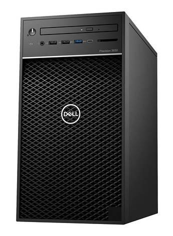 Рабочая станция DELL Precision 3630 Intel i7-8700/8/256F+1000/ODD/int/kbm/W10P, фото 2