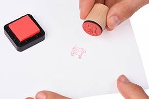Краски для штампиков goki малиновый 15345G-8, фото 2