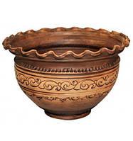 Макитра-волна Покутская Керамика Шляхтянская 4 л ST-503501psg, КОД: 170702