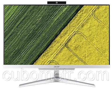 ПК-моноблок Acer Aspire C24-865 23.8FHD/Intel i3-8130U/8/128F/int/Lin/Silver