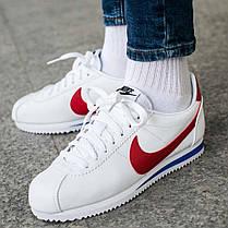 1f34e1b4 Женские кроссовки Nike Classic Cortez Leather White 807471-103, оригинал, фото  3
