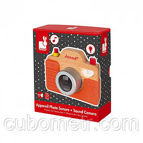 Фотоаппарат Janod со звуком J05335, фото 3
