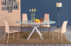 Стильный раскладной стол-трансформер В2400 белый