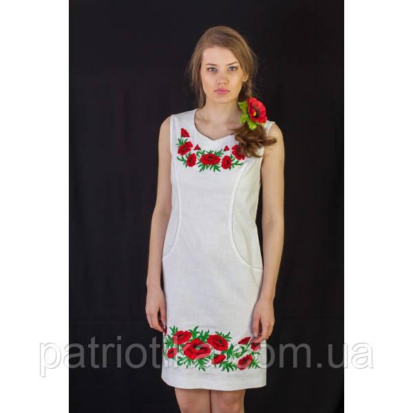 Женское платье вышитое | Жіноче плаття вишите