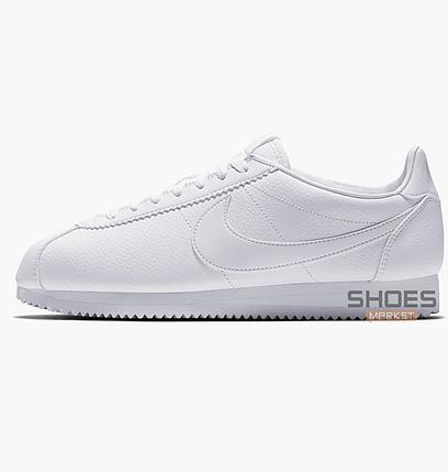 827c7946 Мужские кроссовки Nike Classic Cortez Leather White 749571-111, оригинал,  фото 2