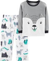 """Флисовая пижамка для мальчика Carter's """"Волчёнок"""" 4Т(98-105 см)"""