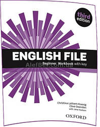 Английский язык / English File/ Workbook+Key. Тетрадь к учебнику, Beginner / Oxford