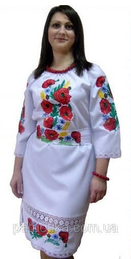 Купить вышитое платье | Купити вишите плаття