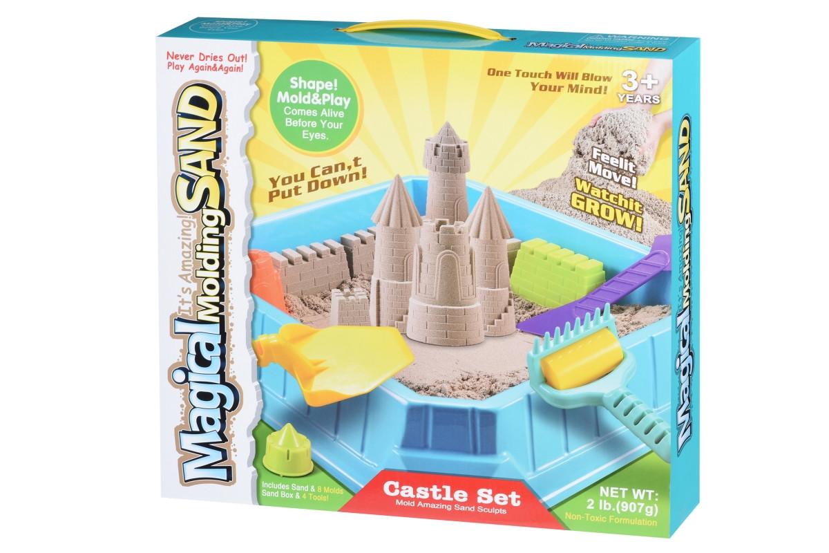 Волшебный песок Same Toy Замок 0,9 кг (натуральный) NF9888-2Ut