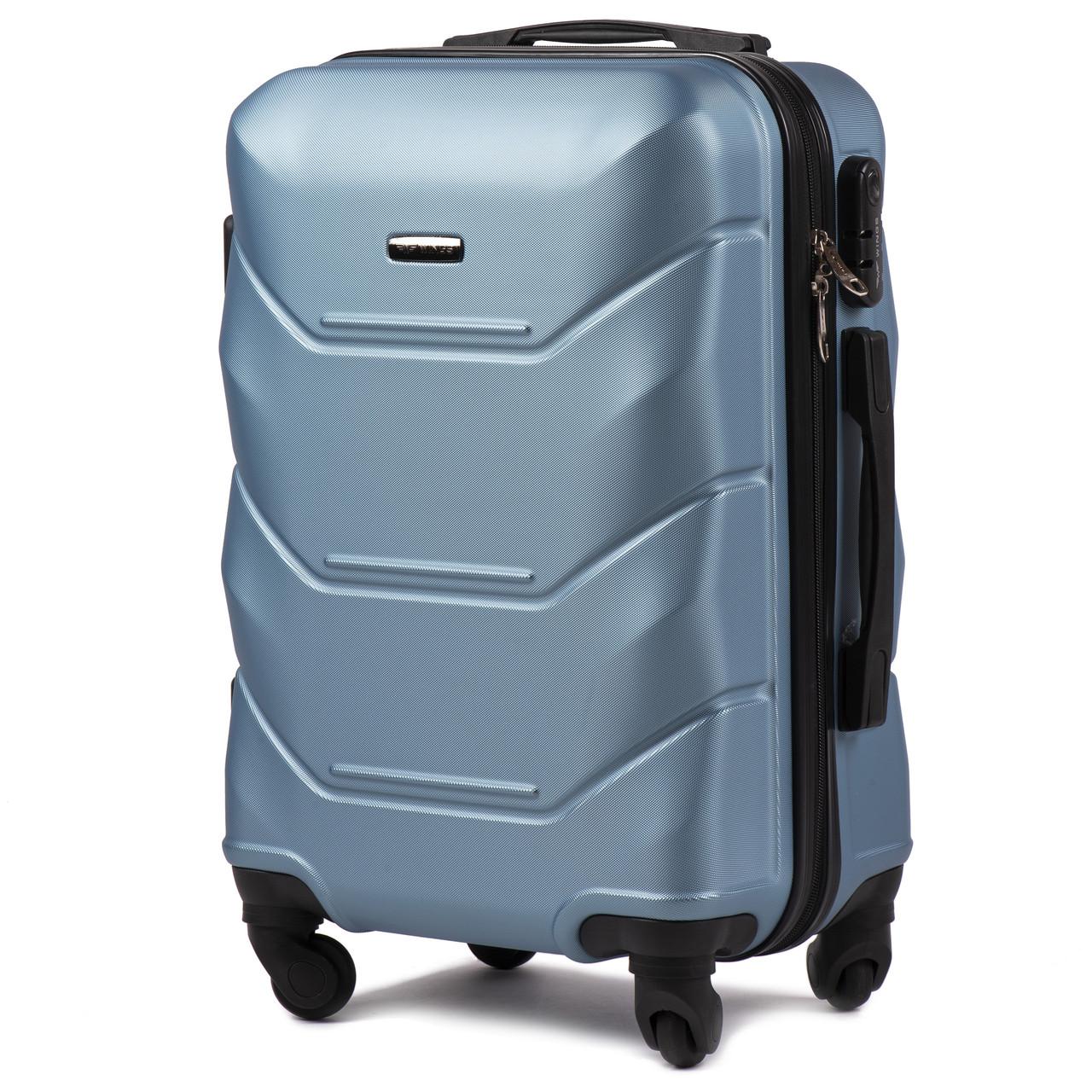 76765a6735ee Малый пластиковый чемодан Wings 147 на 4 колесах: продажа, цена в ...