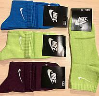 Носки демисезонные хлопок Nike Турция размер 36-40 ассорти