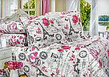 Сімейний Комплект постільної білизни з турецької бязі 100% бавовна, фото 2