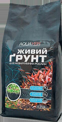 AQUAYER Живой грунт, 5л для аквариума