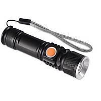 Фонарик ручной Police BL-616-T6 Zoom USB зарядка