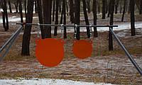 Стойка Средняя с гонгами 300мм и 175 мм Сателит (648), фото 1