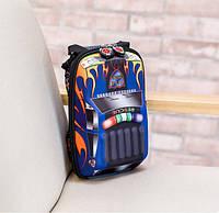 """Стильный детский рюкзак 3 D """"Автомобиль"""" для 2-4 лет"""