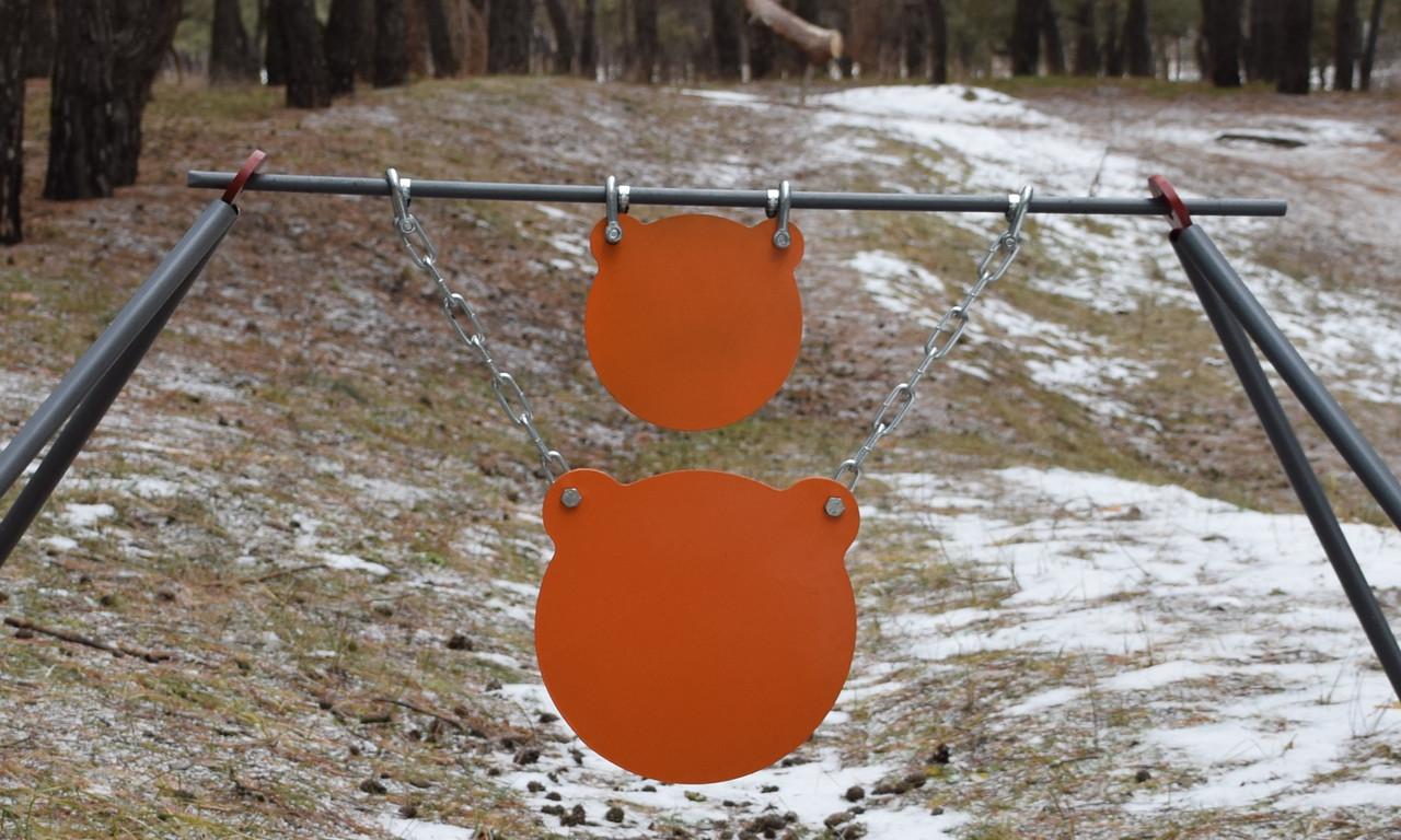 Стійка Середня з гонгами 300мм і 200 мм Сателіт (651)