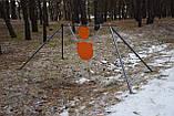 Стійка Середня з гонгами 300мм і 200 мм Сателіт (651), фото 3