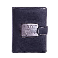 Кошелек мужской кожаный CSC Classic AA506FI17 черный, фото 1