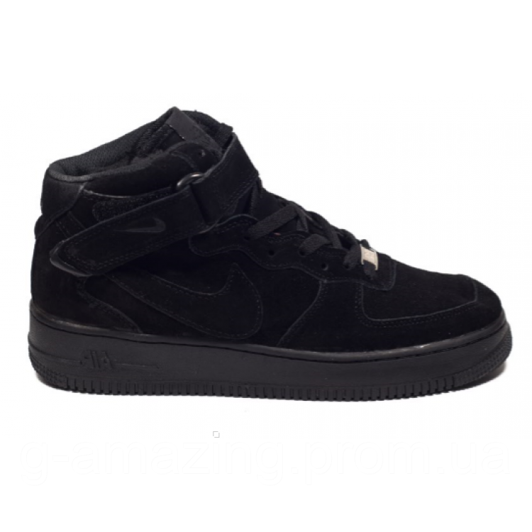 Nike Air Force Winter Black