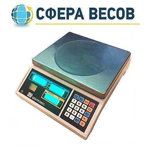 Весы счетные электронные ВТЕ-Центровес-6-Т3С2 (6 кг)