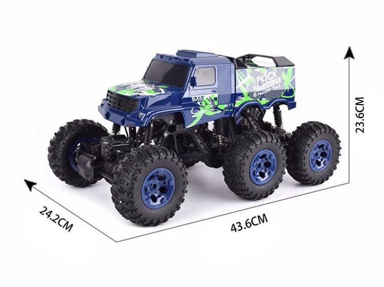 Машинка на радиоуправлении Джип 26612Bg Rock Crawler 1:8 (зеленый)