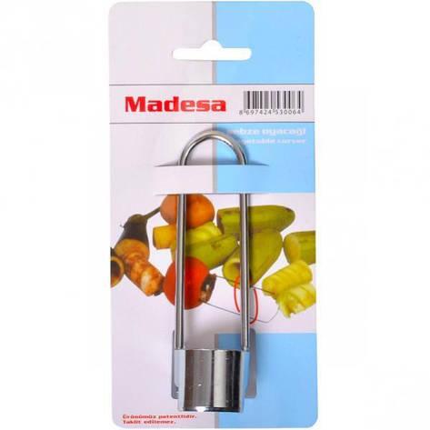Нож для удаления сердцевины овощей «Madesa» 12 см, D-3,2 см, фото 2