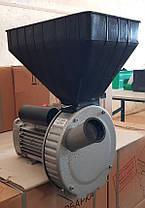 Зернодробилка роторная ГАЗДА 2.5 кВт, 300 кг/ч, УКРАИНА, фото 3