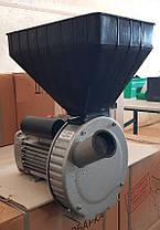 Зернодробилка роторная ГАЗДА 1.7 кВт, 180 кг/ч, УКРАИНА, фото 3