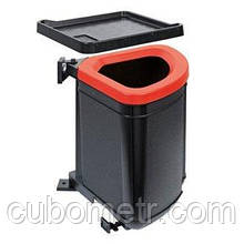 Сортер Franke Pivot /121.0339.484/чорний пластик, чорна рамка