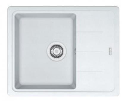 Кухонні мийки Franke Basis BFG 611-62/ 114.0272.599 / Фраграніт/340х420х200/Словаччина/белая