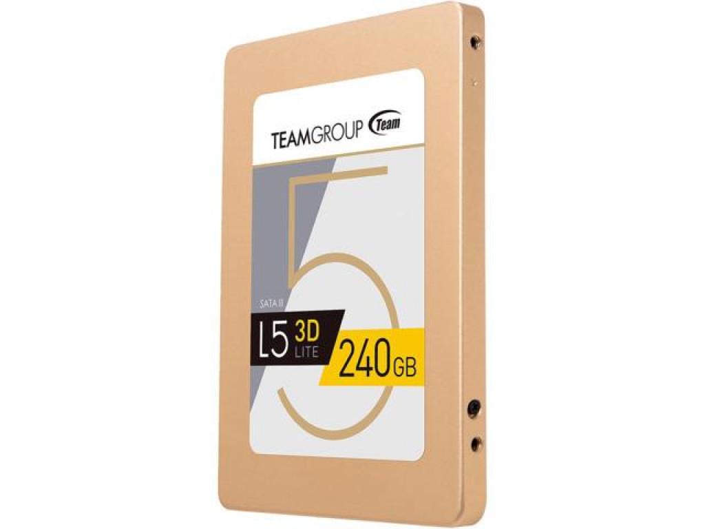 "Жесткий диск SSD 240GB Team L5 Lite 3D (T253TD240G3C101) SATA III, 2.5"""