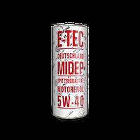 Моторное масло E-TEC 5w40 EVO 1л