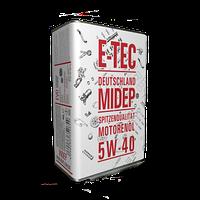 Моторное масло E-TEC 5w40 EVO 4л