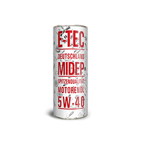 Моторное масло E-TEC 5w40 EVO-D 1л