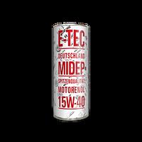 Моторное масло E-TEC 15w40 SSM 1л
