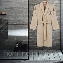 Халат Beverly Hills Polo Club S/M krem кремовый 355BHP1704