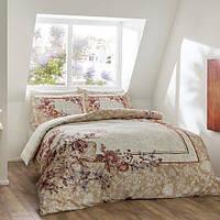 TAC Digital Mariela krem евро комплект постельного белья