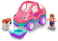 Автопрогулка Пенни с собакой WOW Toys Розовый