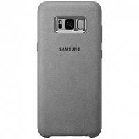 Чехол Samsung Alcantara для Galaxy S8 Plus Серый, фото 1
