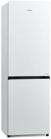 Холодильник Hitachi R-B410PUC6PWH нижн.мороз./2 двери/Ш59.5xВ190xГ65/330л/A+/Белый, фото 2