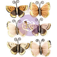 Метелики - Mystical Flight - Pretty Pale - Prima Marketing - 6 шт.