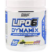 Nutrex Для снижения веса Lipo 6 Dynamix258 gblackberry lemonade