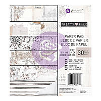 Набір двостороннього паперу - Pretty Pale - Prima Marketing - 15х15 Ціна за 1.5 набору (6 л.)!!!