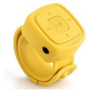 MP3 плеер с браслетом Желтый