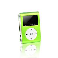 MP3 плеер TD05 с FM и дисплеем Зеленый